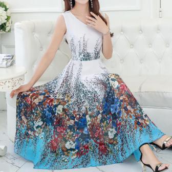 rochie de ocazie cu imprimeu