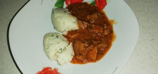 mancarica de carne cu orez