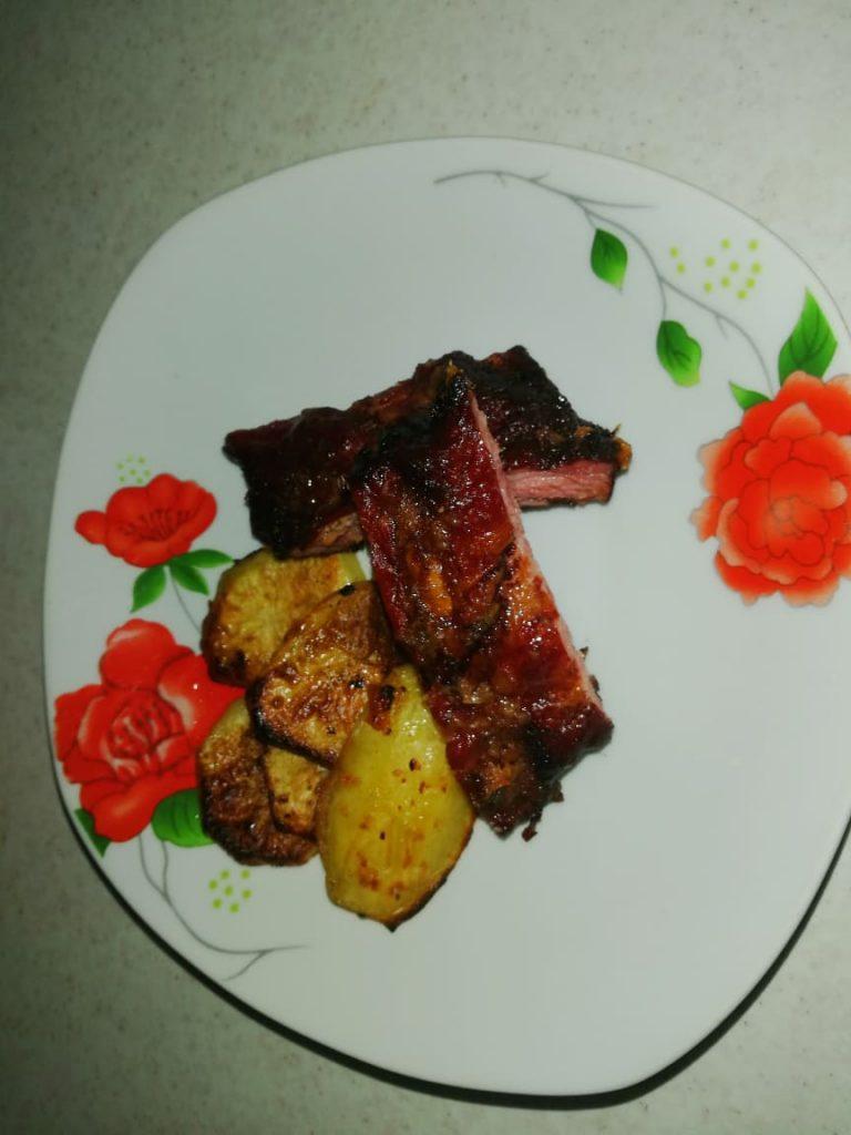 coaste la cuptor cu cartofi