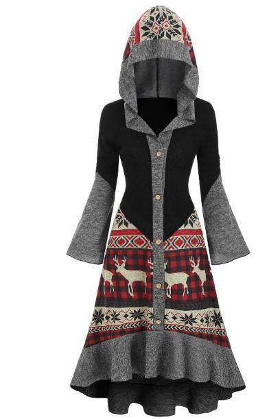 rochie craciun. haine cu motive de iarna