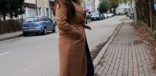 palton femei femme luxe