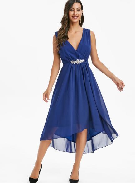 rochii elegante,rochii petreceri,rochie botez,rochie albastra