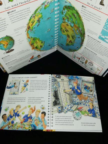 prima mea enciclopedie, ce face un astronaut