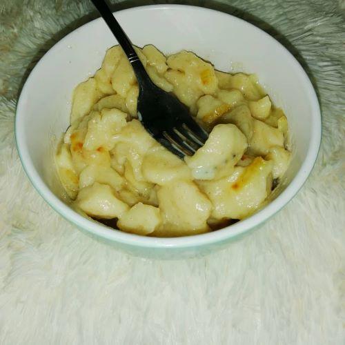 desert cu cartofi clene