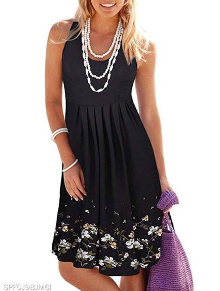 rochie de vară neagră