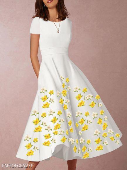 rochii de vară florale