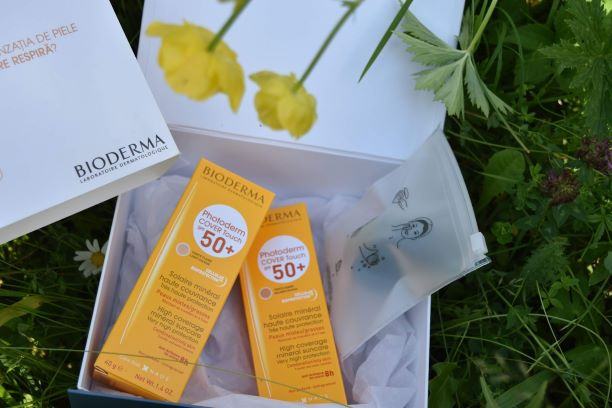 Photoderm Cover Touch SPF 50+ bioderma,protectie solara