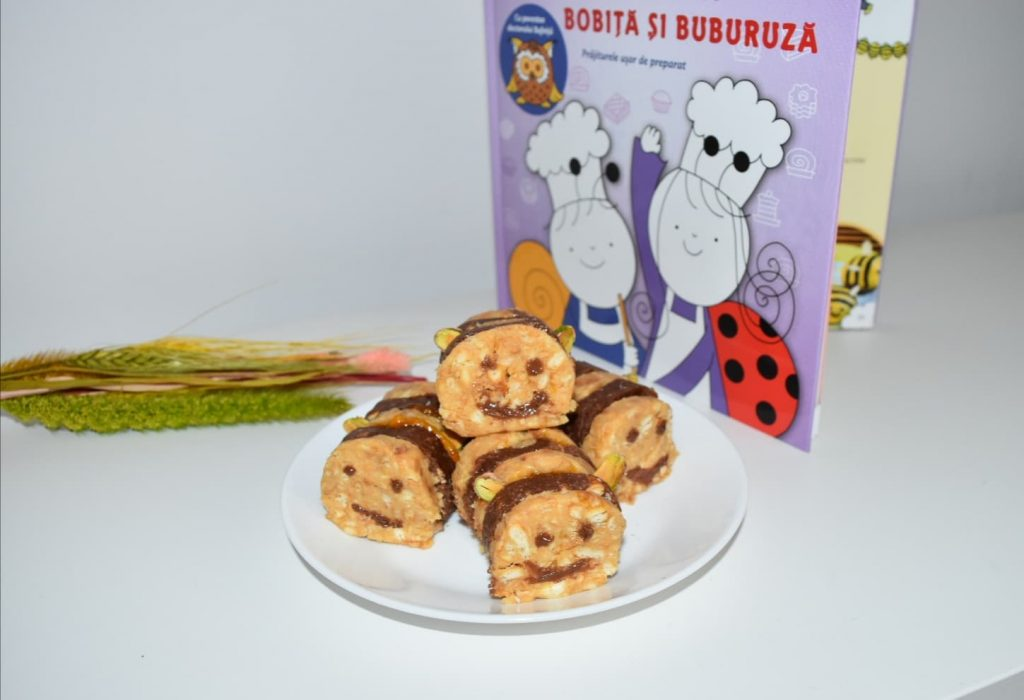 prajitura albinuta ,carte retete pentru copii