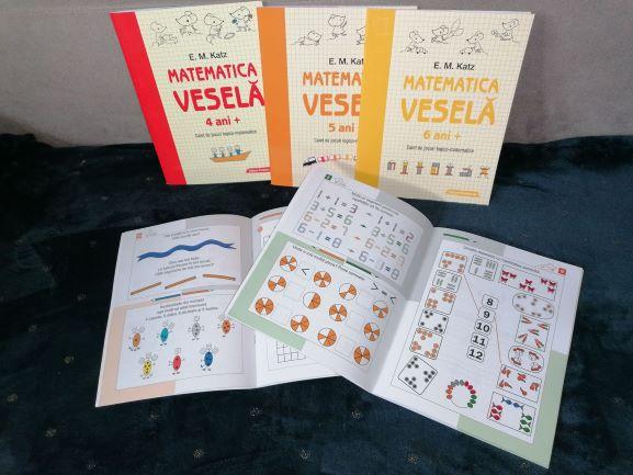 caiete speciale, caiete cu activitati matematica