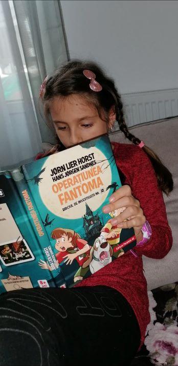 operațiunea fantoma, carte pentru copii
