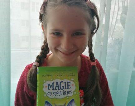 magie cu susul in jos , carte pentru copii cu magie