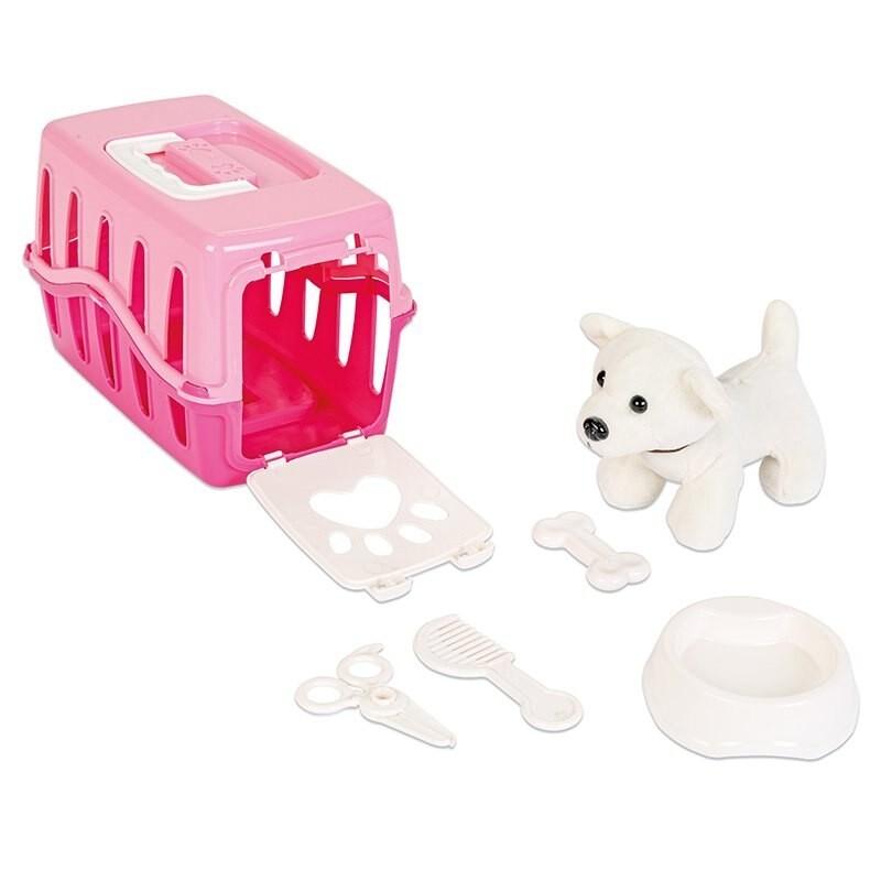 set catel cu cusca,seturi de jucarii pentru copii