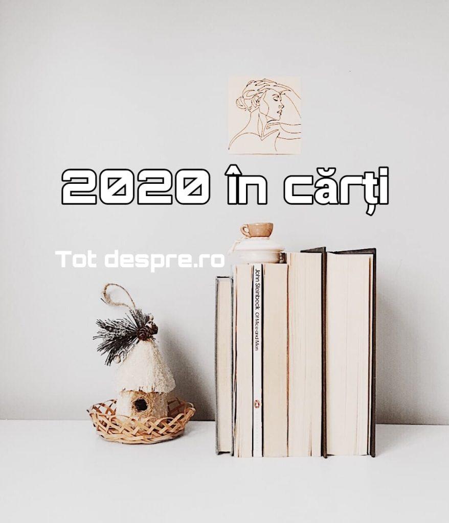 cele mai bune  5 carti citite in 2020