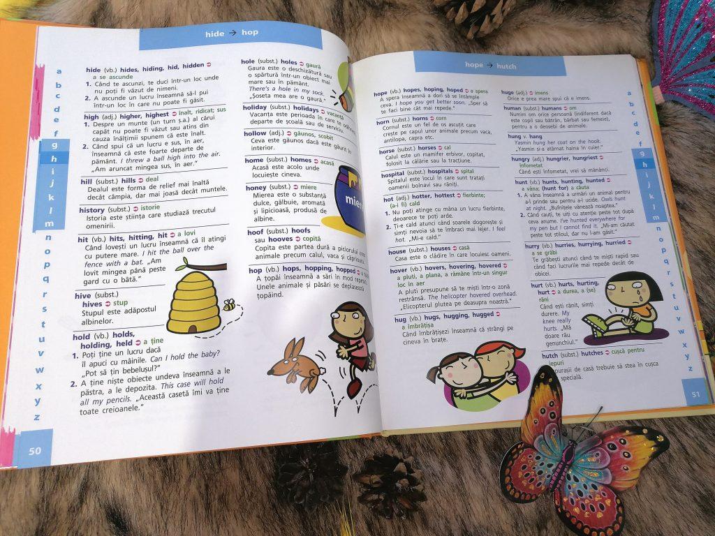 dictionar pentru copii