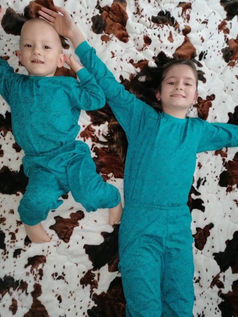 pijamale copii asortate