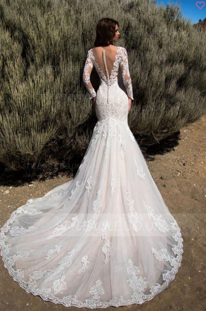 rochii de mireasă  sirena spectaculoase