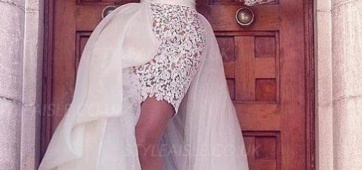 rochii de mireasa spectaculoase, rochii de mireasa mini