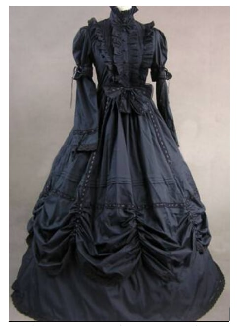 victorian gothic dresses