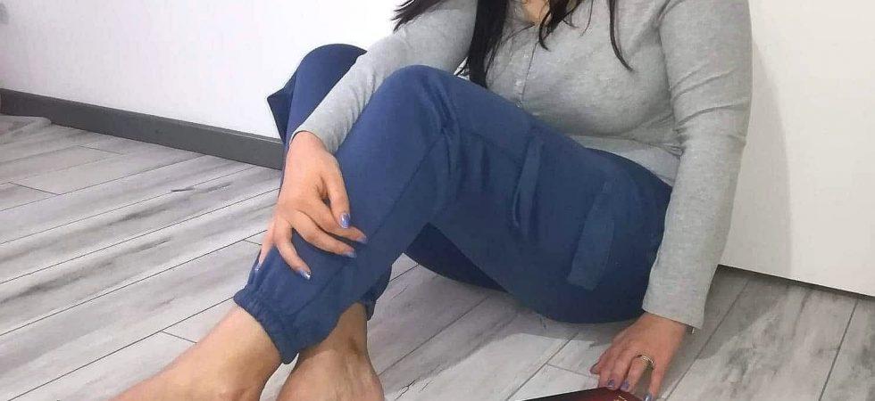 pantaloni dama femme luxe