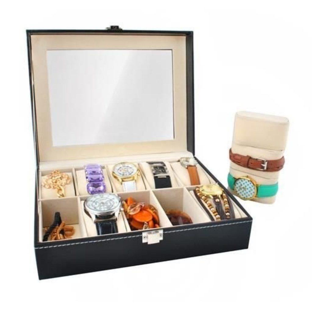 Ceasuri & bijuterii, caseta de depozitare ceasuri