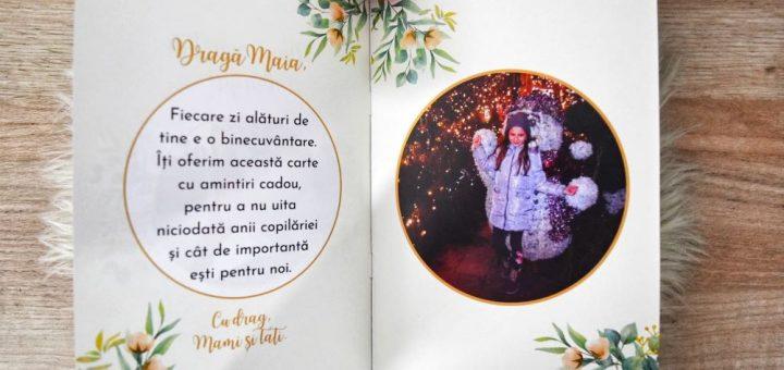 cartea cu amintiri, carte personalizata,carti personalizate,album foto personalizat