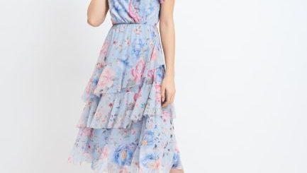 rochie midi florala,glami