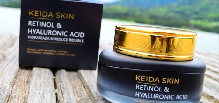 crema cu retinol si acid hialuronic, keida skin