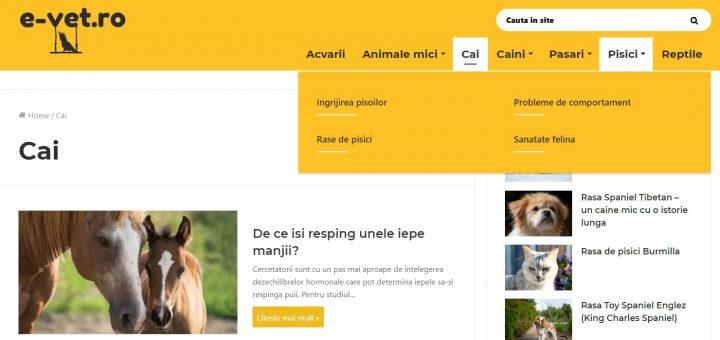 informatii despre animale,e-vet.ro