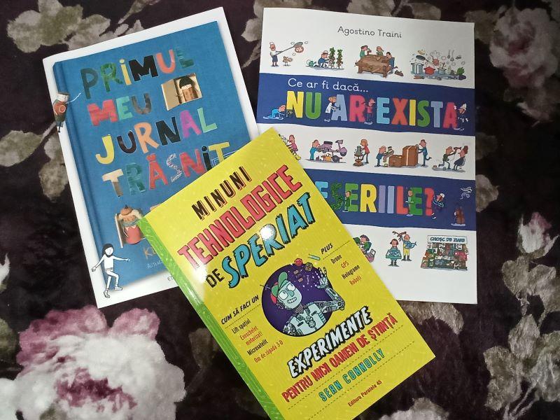 carti pentru copii, prmul meu jurnal trasnit, ce ar fi daca... nu ar exista meseriile