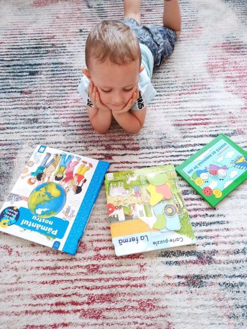 carti copii editura casa , carti cartonate, carte puzzle