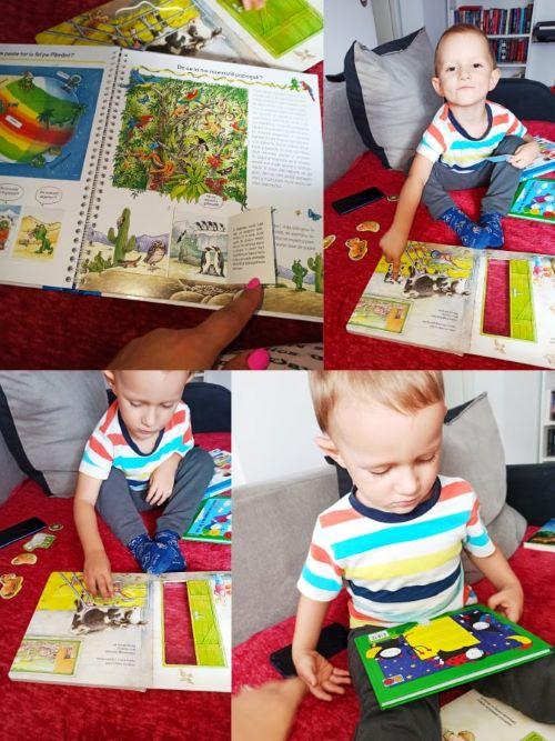 bobita si buburuza carte-puzzle, pamantul nostru, carti copii,